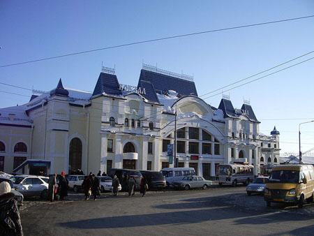 Вокзал станции Томск-I