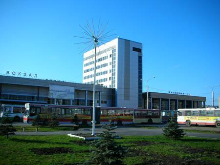 Железнодорожный вокзал. Тюмень